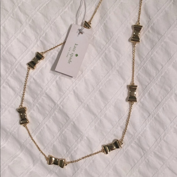 NWT! 🎀 Kate Spade Gold Necklace 🎀